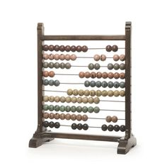 "Eclipse Home Collection Vintage Abacus 12"" L x 23"" W x 28.75"" H"