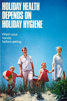 Nanny state posters Holiday hygiene