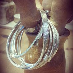 Bangles, bangles, bangles! Whirl, Hunk and Twirl by Rachel Jeffrey.