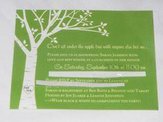 "Photo 11 of 14: Green Apple Theme Bridal Shower / Bridal/Wedding Shower ""Green Apple Theme Bridal Shower"""