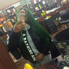 sew in, sew in weave, and myasia smalls image Black Girls Hairstyles, Cute Hairstyles, Colored Weave Hairstyles, Sew In Weave, Green Hair Colors, Weave Styles, Braids Wig, Hair Goals, Hair Makeup