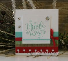 I created this for my Christmas Cascade Event. For details, free project sheet and video tutorial please visit my blog.  Thanks for looking!  My Blog http://rubberredneck.typepad.com/rubber-redneck/2014/11/christmas-cascade-day-4-mingle-all-the-way-card.html