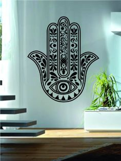 Hamsa Hand Version 10 Decal Sticker Wall from Amazon