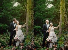 forest wedding pics