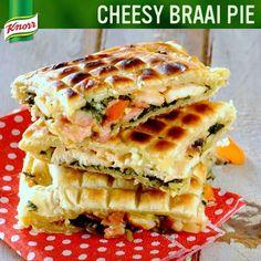 Braai pie Braai Pie, Braai Recipes, South African Recipes, Side Dishes, Sandwiches, Easy Meals, Bread, Food, Brot