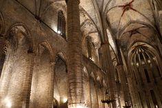 The beautiful Santa Maria del Mar church.