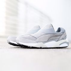 """Sneaker Politics on Instagram: """"STAMPD LA x Puma Trinomic Sock - Drizzle $135 sizes 7.5-13 Available now online and at our Lafayette location. #puma #stampd #stampdla #trinomic #sneakerpolitics #stampdpuma"""""""