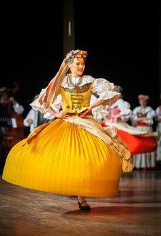 Folk costume from Bytom, Silesia, Poland.