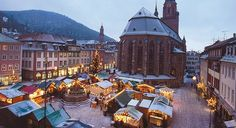 Heidelberg Christmas Market | Set in the Old Town's Five Squares, and in the shadow of the castle ...
