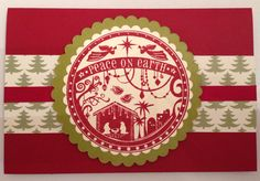 Card made with Wonderful Blessings Stamp from Stampin' Up!