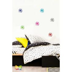 Vinilo Decorativo Infantil - MANCHAS 6 colores. WALL STICKER DECOR