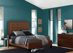 This is the project I created on Behr.com. I used these colours: TSUNAMI(S450-7),