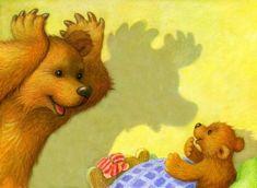 Animal Hugs, Cute Funny Cartoons, Dachshund Art, Art Folder, Kids Story Books, Cute Teddy Bears, Bear Art, Happy Art, Children's Book Illustration