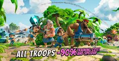Commander, it's the biggest Troop-MANIA yet! ALL TROOPS are 90% off from Friday through Monday!😜