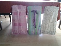 Hand made bespoke nappy storage bags