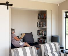 On an idyllic outcrop with stunning views of Lake Taupo, this couple built a bespoke new home perfect for their way of life Building A New Home, House Building, Guest Bedrooms, Master Bedrooms, Waterfall Taps, Bedroom Arrangement, Cosy Corner, Built In Bookcase, New Builds