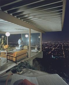 Case Study House #22, (playboy), 1960 Los Angeles, CA / Pierre Koenig, architect © Julius Schulman