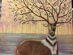 Moose Art, Paintings, Animals, Animales, Paint, Animaux, Painting Art, Draw, Painting