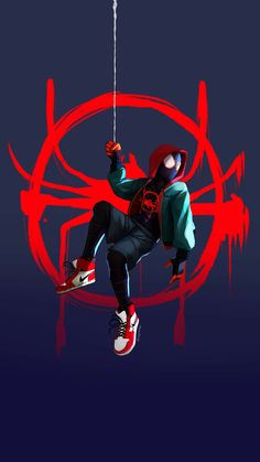 Comics Spider man Miles Morales Into the spider verse marvel ultimate Spiderman Drawing, Spiderman Art, Noir Spiderman, Black Spiderman, Deadpool Wallpaper, Avengers Wallpaper, Marvel Comics Art, Marvel Heroes, Ms Marvel