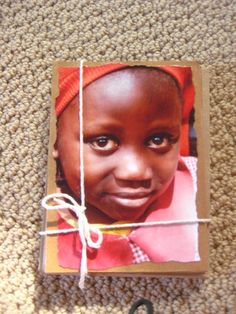 Awesome blank cards with some of my favorite African kids on them!