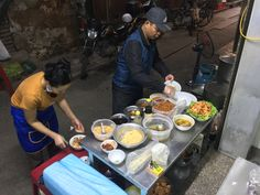 Tasty street food in Hanoi. Glass noodle with squid, fish cake, egg and sausage.very yummy! Squid Fish, Hanoi, Chocolate Fondue, Street Food, Noodles, Sausage, Egg, Tasty, Cake