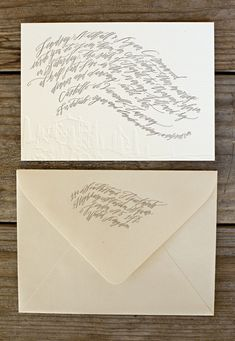 Betsy Dunlap calligraphy.