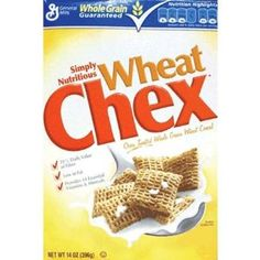 General Mills Wheat Chex Cereal. Great snack that delivers whole grains, fiber, folic acid that women need daily.