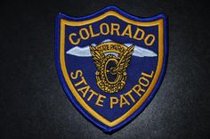 Colorado State Patrol Patch (Current Issue) - States Display