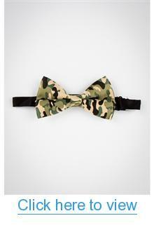 Camo Print Bow Tie #Camo #Print #Bow #Tie