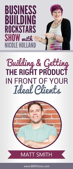 Matt Smith on Building & Getting The Right Product In Front Of Your Ideal Clients  Matt is the founder of Later (formerly Latergramme) where he leads the marketing, growth and customer experience teams as well as fundraising.  Learn more: http://bbrshow.com/podcast/bonus-010/