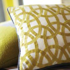 Cushion - Lace Stripe