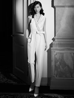 Bridal Collection, Dress Collection, Wedding Dress Trends, Wedding Dresses, Classic Wedding Dress, Wedding Jumpsuit, Tailored Jumpsuit, Fashion Themes, Bridal Fashion Week