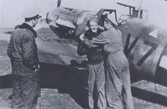 "Bf 109 G-6 W.Nr. unknown ""V7+??"", 101 Vadaszezred, Veszprém (?), Autumn 1943. Source: warbird.com. | Flickr - Photo Sharing!"