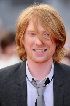 Domhnall Gleeson - I saw About Time today and he was so sweetly adorable in it.