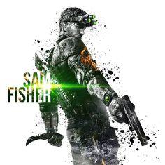 splinter cell blacklist fanart by Splinter Cell Blacklist, Tom Clancy's Splinter Cell, Video Game Art, Video Games, Movie Scripts, Metal Gear Solid, Video Game Characters, Cool Drawings, Fisher