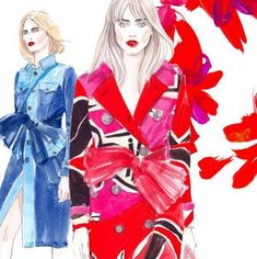 10 Fashion Illustrators to Follow on Instagram Right Now  #InStyle