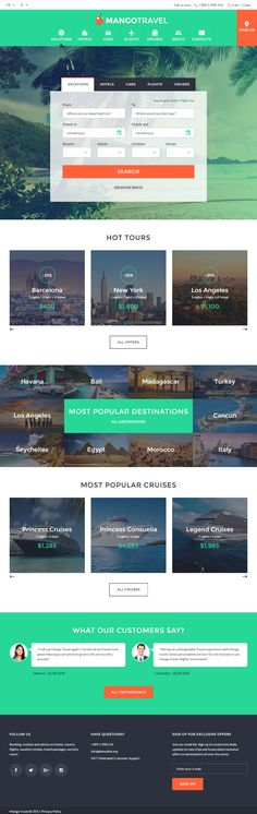 MangoTravel is Premium full Responsive HTML5 #Template. Bootstrap Framework. If you like this #TravelAgency Template visit our handpicked list of best #Travel HTML5 Templates at: http://www.responsivemiracle.com/best-travel-html5-templates/