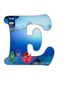 Letra-E-Pj-Masks-Abecedario-Pj-Masks-Alfabeto-Pj-Masks.jpg (720×960)