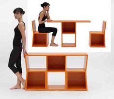 Trick Bookcase Unique Furniture for Minimalist Home PeerZoo 8