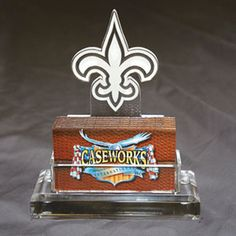 New Orleans Saints NFL Business Card Holder w/ Gift Box
