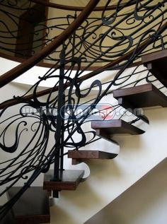 Bespoke Curved Staircases - Modern and Prestige Design - VBKF869