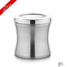 JVL Stainless Steel Belly Tin Canister, 8 Litres Buy Kitchen, Kitchen Items, Kitchen Utensils, Kitchen Appliances, Storage Sets, Storage Containers, Kitchenware, Tableware, Canisters