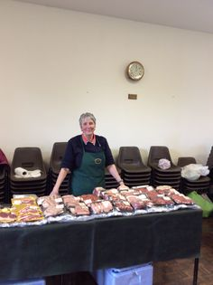 Pat from Deep Clough Farm has beautiful, fresh and provenance assured meat.