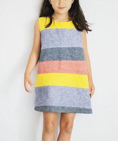 rainbow dress by sanae ishida