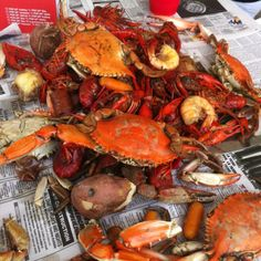 Loved living in South Louisiana! boiled crabs, crawfish, shrimp and potatoes