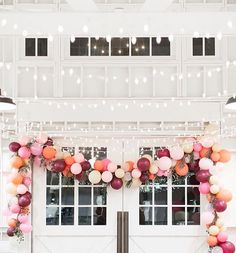 no need for extravagant party decor, just stick to a color palate, and buy 20 times more balloons than you think you'll need. Amen.