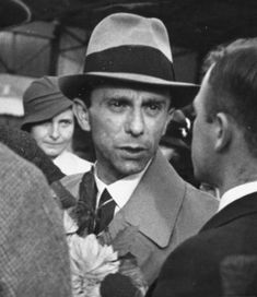 Dr. Joseph Goebbels. In this picture, I think he's a little pissed off.