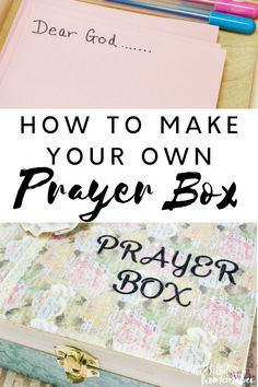 What is a prayer box and how can it benefit your life? How can this be used in your war room or to increase your faith walk? I am sharing all this and more. Prayer Box, Power Of Prayer, Christian Living, Christian Women, Asking For Prayers, Make Your Own, Make It Yourself, Bible Study For Kids, Worship The Lord
