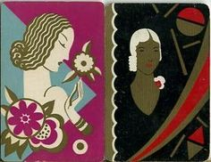 1930s playing cards