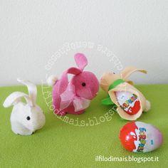 http://ilfilodimais.blogspot.com/2017/03/bunny-con-doppia-sorpresa.html?m=0 Nascondi l'ovetto con sorpresa nel #coniglietto #Pasqua